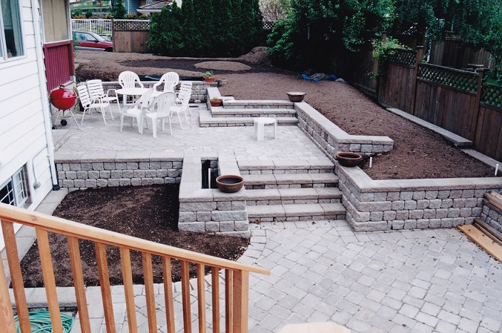 Grading beds and lawn areas